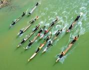 Dak Bla boat racing