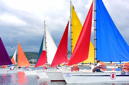 Colorful flotilla dazzles in Phu Quoc